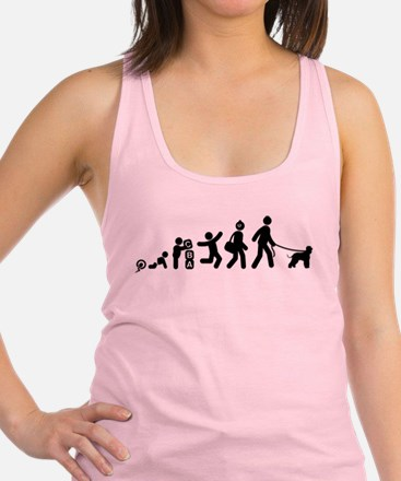 Irish Water Spaniel Racerback Tank Top