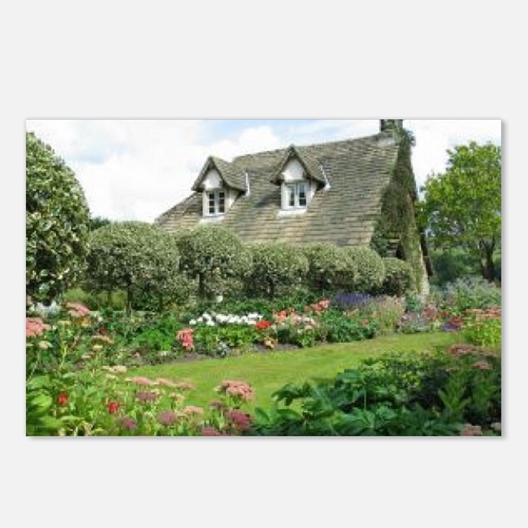 English Cottage Garden Postcards (Package of 8)