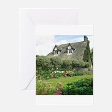 English Cottage Garden Greeting Cards