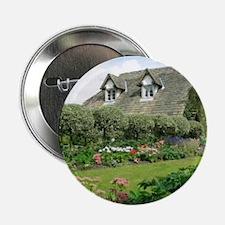 """English Cottage Garden 2.25"""" Button"""