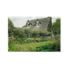 English Cottage Garden Magnets