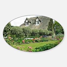 English Cottage Garden Decal
