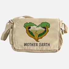 Love Mother Earth Messenger Bag