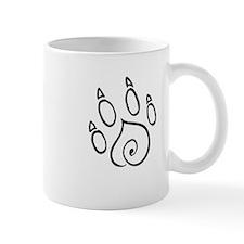 Paw Print Mugs