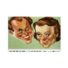 FIBBER MCGEE & MOLLY - OLD TIME R Rectangle Magnet