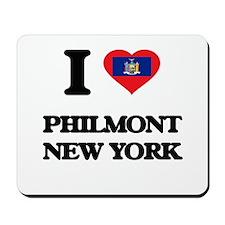 I love Philmont New York Mousepad
