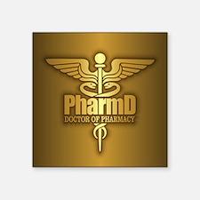 PharmD gold Sticker