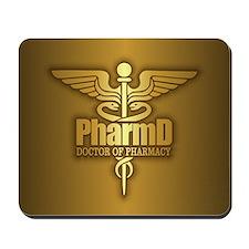 PharmD gold Mousepad