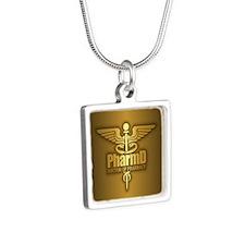 PharmD gold Necklaces