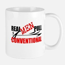 REAL MEN PULL CONVENTIONAL Mugs