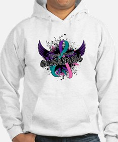 Thyroid Cancer Awareness 16 Hoodie