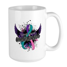 Thyroid Cancer Awareness 16 Mug