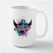 Thyroid Cancer Awareness 16 Mug