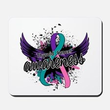 Thyroid Cancer Awareness 16 Mousepad