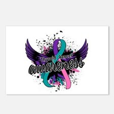 Thyroid Cancer Awareness Postcards (Package of 8)
