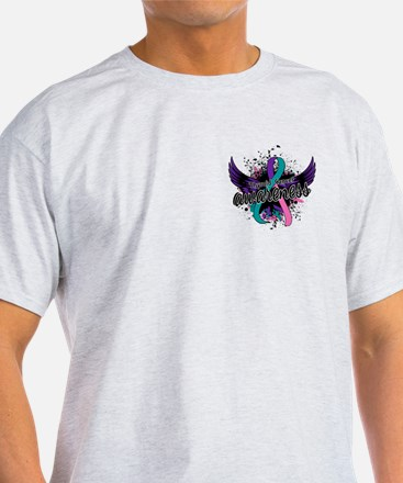 Thyroid Cancer Awareness 16 T-Shirt