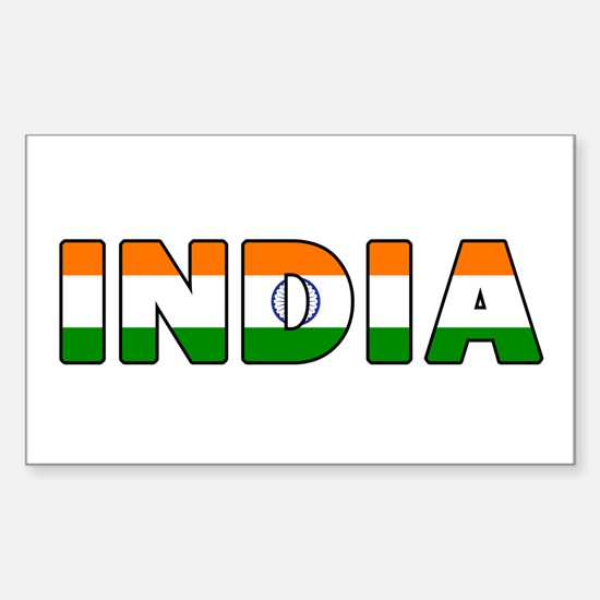 India Decal