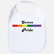 Samoa pride Bib