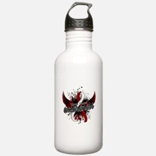 Throat Cancer Awarenes Water Bottle