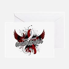 Throat Cancer Awareness 16 Greeting Card