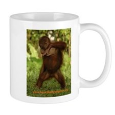 BOS Coffee Mug with break-dancing orangutan!
