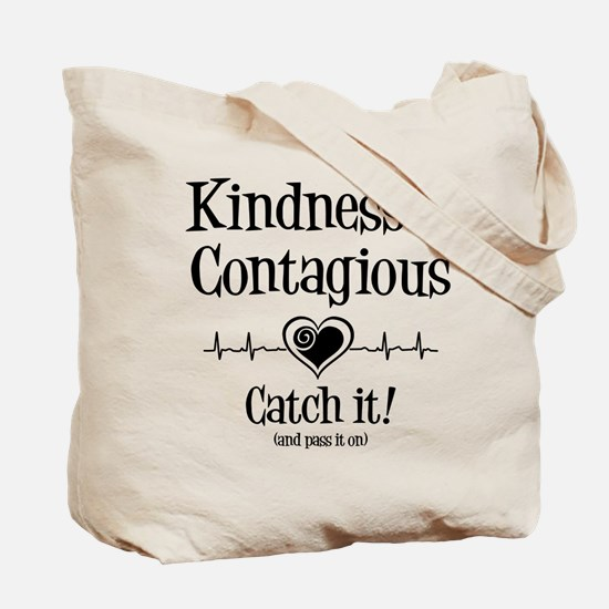 CONTAGIOUS (both sides) Tote Bag