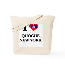 I love Quogue New York Tote Bag