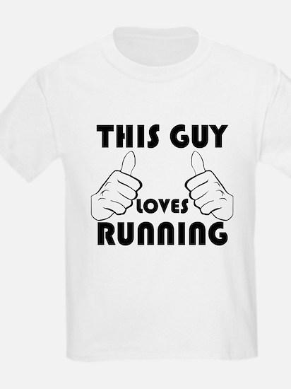 This Guy Loves Running T-Shirt