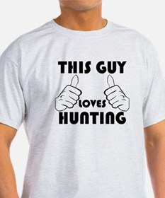 This Guy Loves Hunting T-Shirt