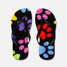 Paws - Multi Colored Flip Flops