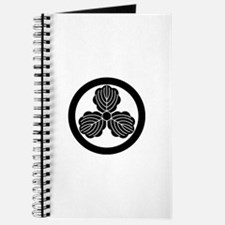 Three oak leaves in circle Journal