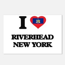 I love Riverhead New York Postcards (Package of 8)