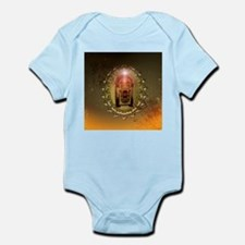 Vintage, musicbox with light effect Body Suit