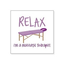 Relax Message Table Sticker