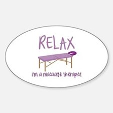 Relax Message Table Decal
