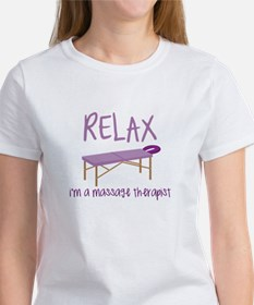 Relax Message Table T-Shirt
