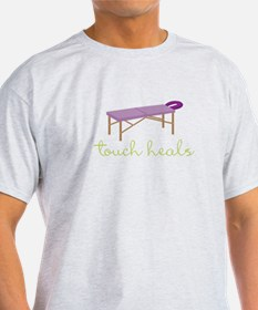 Touch Heals Table T-Shirt