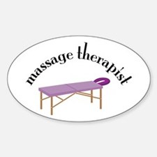 Message Therapist Decal