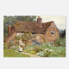 English Garden Postcards (Package of 8)