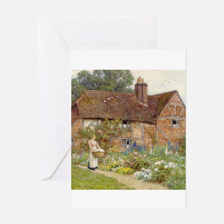English Garden Greeting Cards