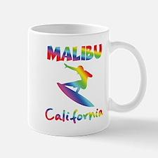 Malibu Beach Surfer Mugs