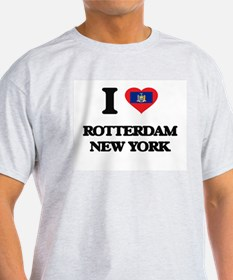 I love Rotterdam New York T-Shirt