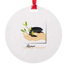 Licensed Massage Therapist Ornament
