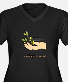 Licensed Massage Therapist Plus Size T-Shirt