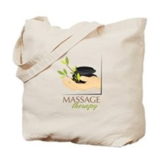 Hot Stone Therapy Tote Bag
