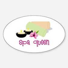 Spa Queen Decal