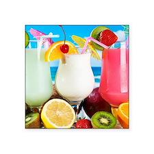 Exotic Summer Cocktails Sticker