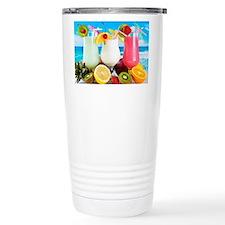 Exotic Summer Cocktails Travel Mug