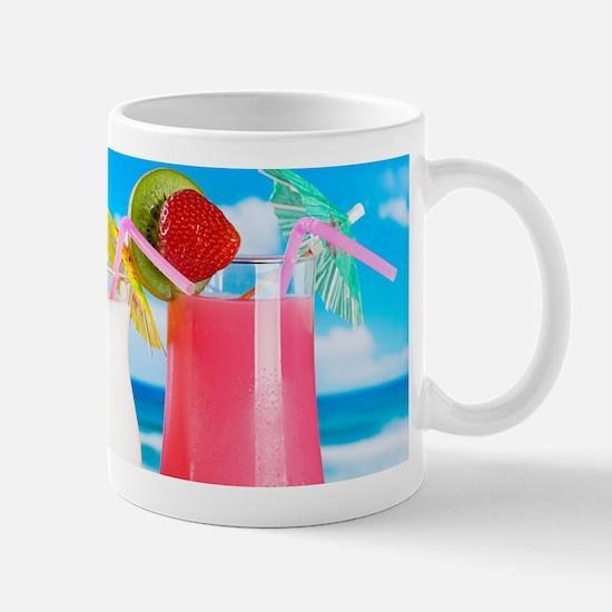 Exotic Summer Cocktails Mugs
