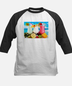 Exotic Summer Cocktails Baseball Jersey